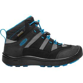 Keen Hikeport Mid WP Zapatillas Niños, black/blue jewel